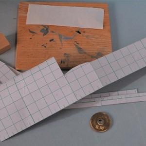 1/80HO16番スケール ワム90000型貨車を作る。(二作目)「材料切り出し」