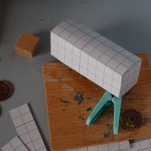 1/80HO16番スケール ワム90000型貨車を作る (組み立て接着)