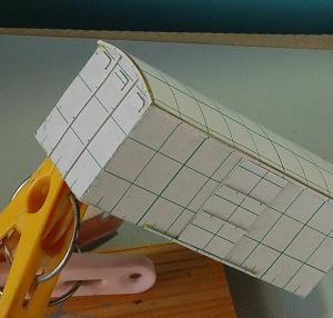 1/80HO16番スケール ワム90000型貨車を作る (ボデー組み立て完了)