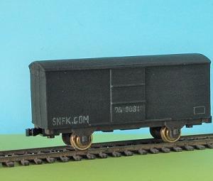 1/80HO16番スケールワム90000型貨車を作る (完成写真 1)