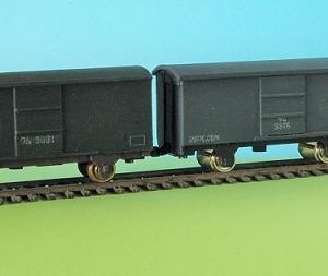1/80HO16番スケールワム90000型貨車を作る (完成写真2)