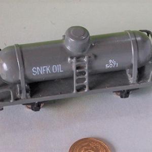1/80HO16番スケール タム5000型貨車の完全自作 (完成写真1)
