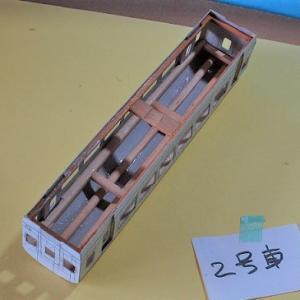 HO/16番スケールナハ10(自由型)を作る (補強工作完了した。)