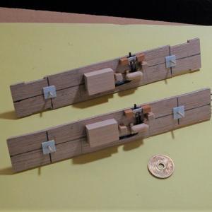 HO/16番ナハ10ショートスケールを作る (床下機器)
