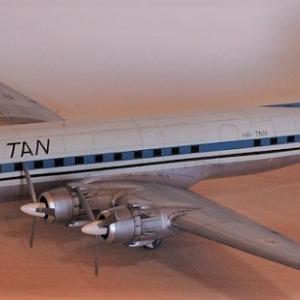 エレール1/72 (C-118リフトマスター)DC-6  完成写真 1