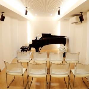 スタインウェイピアノサロンにてお一人ずつリハーサルを行います‼️