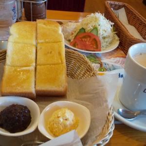 コメダで朝食