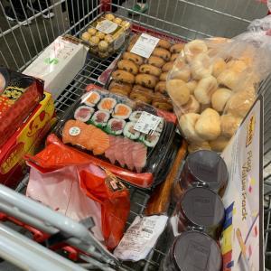 コストコ購入品の収納
