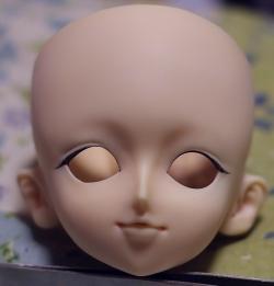 VOLKS SD13 それなりのリメイク3 (アイライン、二重ライン、下睫毛@今回は普通に)
