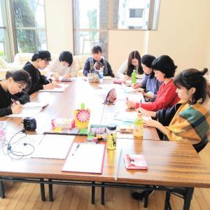 【手形アート資格取得】今日はオンライン資格取得講座開催です