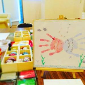 学校の宿題にも☆夏のおすすめ手形アート!