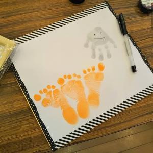 【募集中】ハロウィンの手形アート☆