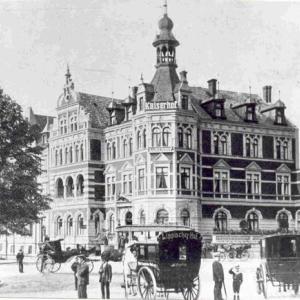 1890年の建物が今も健在なドイツ