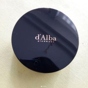 韓国の友人からd'Alba(ダルバ)のリキッドファンデーション頂きました!