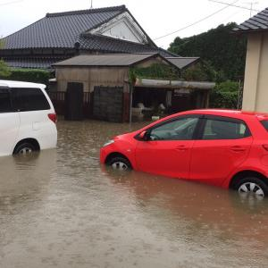 令和元年 九州北部豪雨で実家が床上浸水、半壊か?