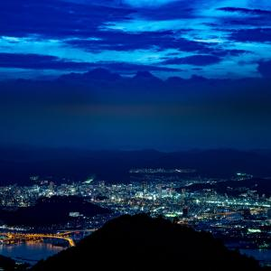 2020年 9月5日・15日『絵下山&大竹工業地帯夜景』('ω')ノ