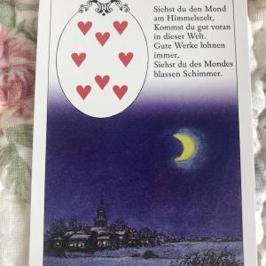 【月 The moon】今日のオラクルメッセージ