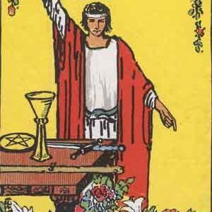 タロット瞑想アファメーション 1 魔術師