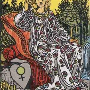 タロット瞑想アファメーション 3 女帝