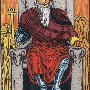 タロット瞑想アファメーション 4 皇帝