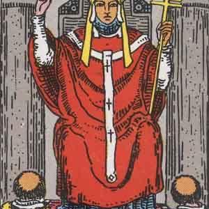 タロット瞑想アファメーション 5 教皇