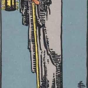タロット瞑想アファメーション 9 隠者