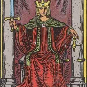タロット瞑想アファメーション 11 正義