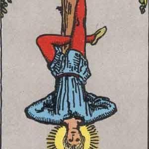 タロット瞑想アファメーション 12 吊られた男