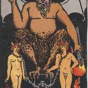 タロット瞑想アファメーション 15 悪魔