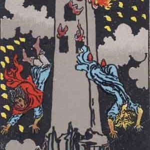 タロット瞑想アファメーション 16 塔