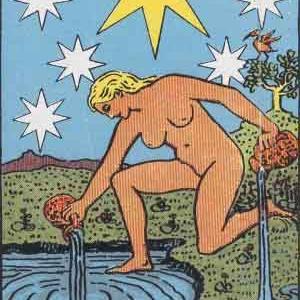 タロット瞑想アファメーション 17 星