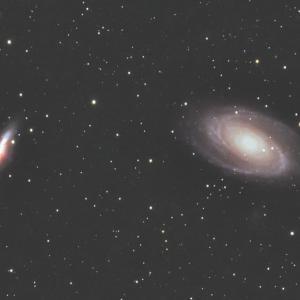 M81とM82