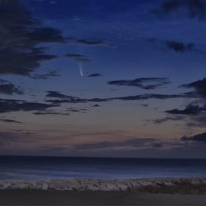 ネオワイズ彗星の続報
