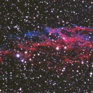 CMOSカメラで網状星雲