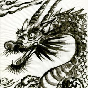開運龍神画~「図々しさや図太さも」