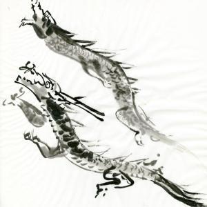 開運龍神画~「飛び立つ翼となる 」