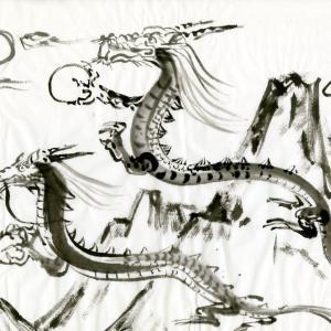 開運龍神画~「同じモノを見る 」