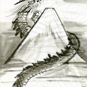 開運龍神画~「生きているだけで、何かの役に立っている 」