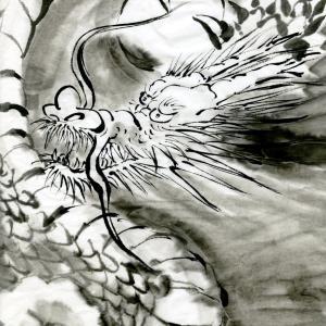 開運龍神画~「悩み事の9割は、無意味 」