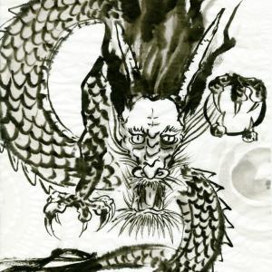 開運龍神画~「今やっていることを言い訳にしない」