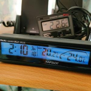 外気温度計の更新