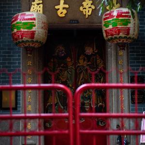 行くと新型肺炎に感染すると恐れられている北角(ノースポイント)のお寺、香港の新たな感染源に
