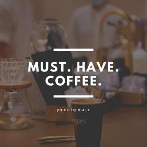 大のコーヒー党さんが一押しするK11 Musea 内のこだわりの店、BLOOMS COFFEE