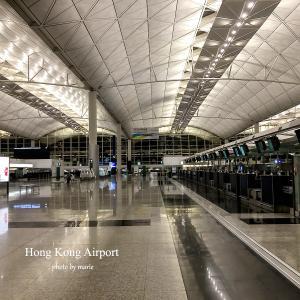 ショックだった、新型肺炎で人がいないガラーンとした香港空港、キャセイこれから大リストラへ