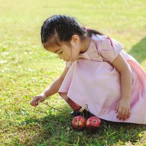 4歳の記念にとファミリーフォトを撮影しました、とっておきの今の瞬間を残しましょう
