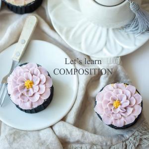 ふんわり可愛いカップケーキ、欧米人と日本人ではおしゃれ写真の撮り方が違う