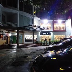 初めて、夜のフィットネスジムに行ってみました (・∀・)
