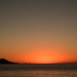 夕陽と帰港 & Rising from the ashes