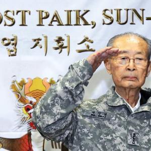 韓国の英雄が亡くなられました。