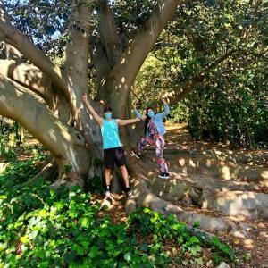 パロスバーデスの植物園